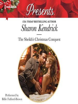 cover image of The Sheikh's Christmas Conquest