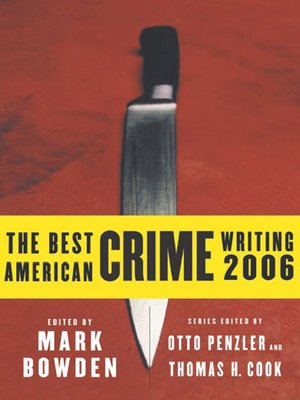 cover image of The Best American Crime Writing 2006