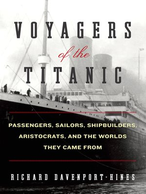 cover image of Voyagers of the Titanic