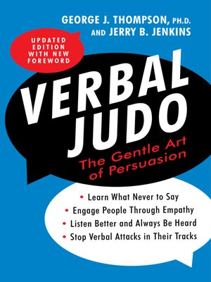 cover image of Verbal Judo