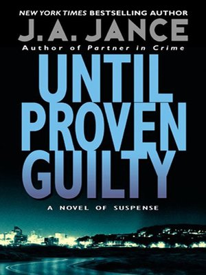 cover image of Until Proven Guilty