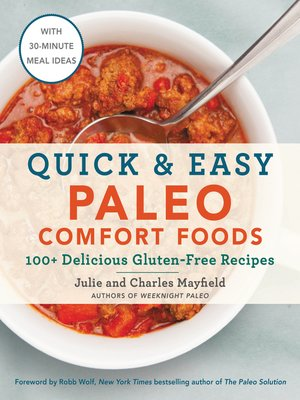 cover image of Quick & Easy Paleo Comfort Foods