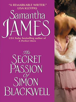 cover image of The Secret Passion of Simon Blackwell