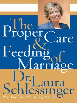 cover image of The Proper Care and Feeding of Marriage