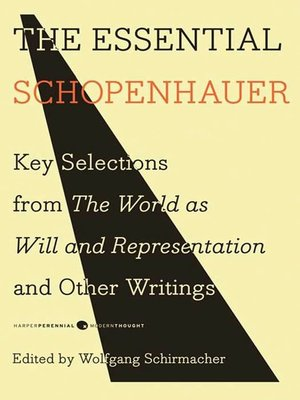 cover image of The Essential Schopenhauer