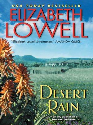 cover image of Desert Rain