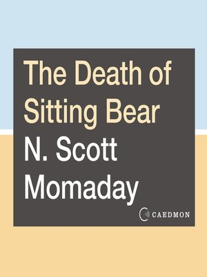 cover image of The Death of Sitting Bear