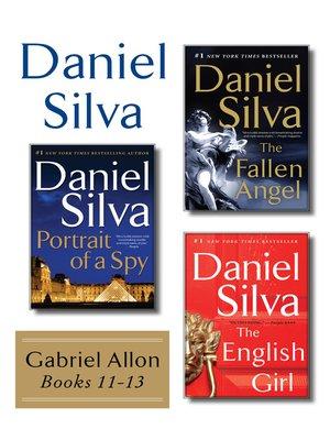 cover image of Daniel Silva's Gabriel Allon Collection, Books 11-13