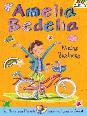 cover image of Amelia Bedelia Means Business