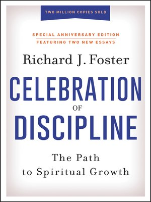 cover image of Celebration of Discipline, Special Anniversary Edition
