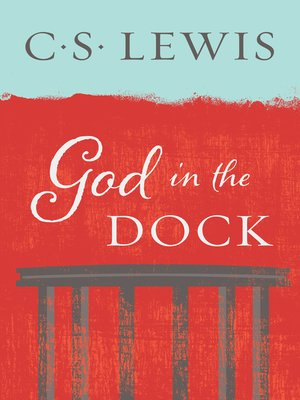 cover image of God in the Dock
