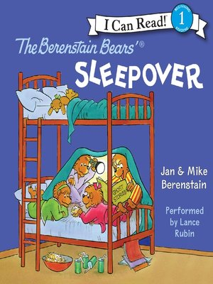 cover image of The Berenstain Bears' Sleepover