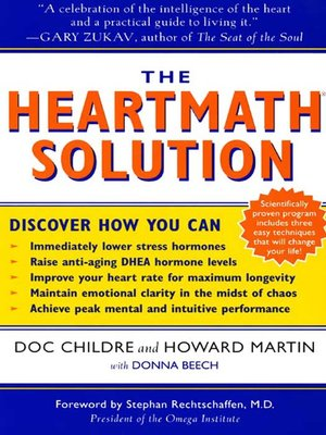 cover image of The HeartMath Solution