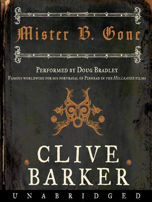 cover image of Mister B. Gone