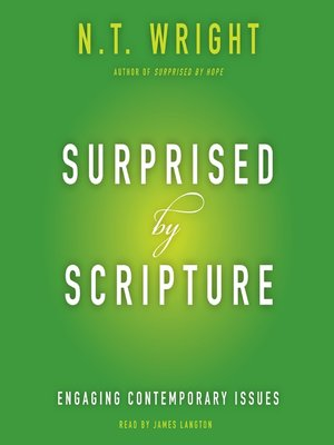 cover image of Surprised by Scripture