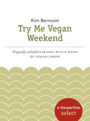 cover image of Try Me Vegan Weekend