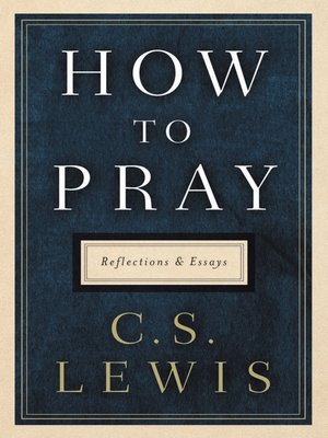 cover image of How to Pray