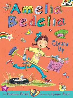 cover image of Amelia Bedelia Cleans Up