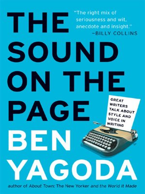 cover image of The Sound on the Page