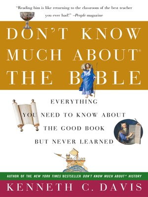 cover image of Don't Know Much About the Bible