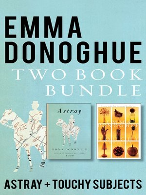 cover image of Emma Donoghue Two-Book Bundle