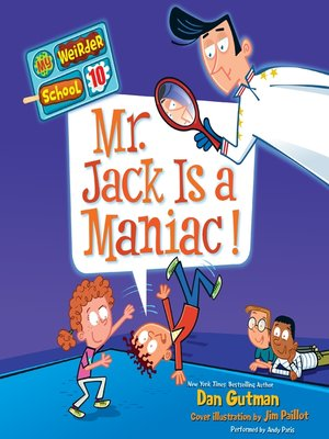 cover image of Mr. Jack Is a Maniac!