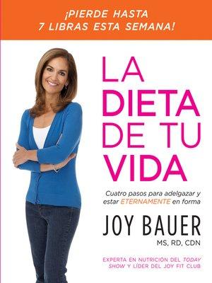 cover image of La dieta de tu vida