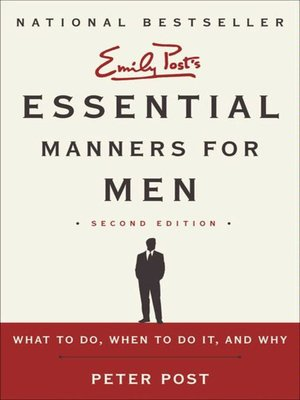 cover image of Essential Manners for Men