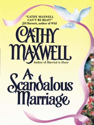 cover image of A Scandalous Marriage
