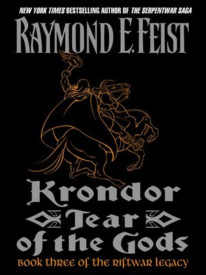 cover image of Krondor: Tear of the Gods