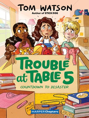 cover image of Trouble at Table 5 #6