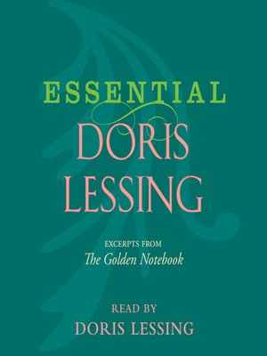 cover image of Essential Doris Lessing