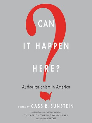 cover image of Can It Happen Here?