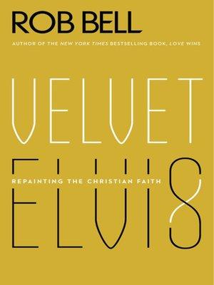 cover image of Velvet Elvis