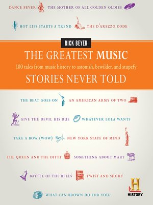 cover image of The Greatest Music Stories Never Told