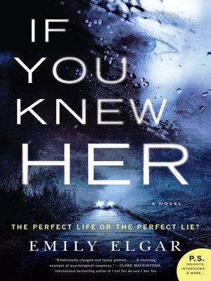 cover image of If You Knew Her