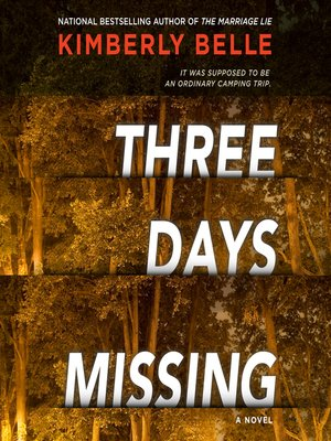 cover image of Three Days Missing