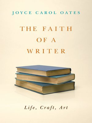 cover image of The Faith of a Writer