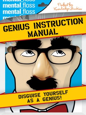 cover image of Mental Floss: Genius Instruction Manual
