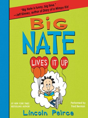 cover image of Big Nate Lives It Up