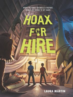 cover image of Hoax for Hire