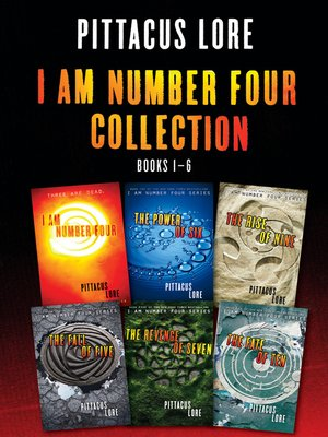 cover image of I Am Number Four Collection