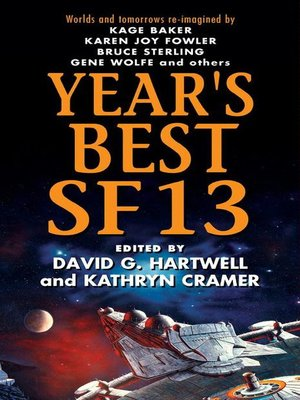 cover image of Year's Best SF 13