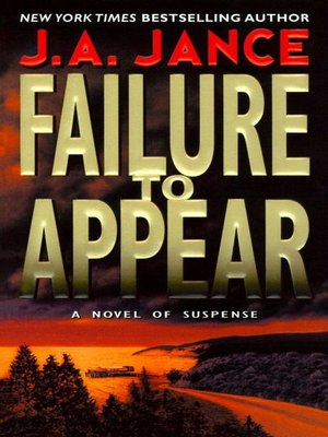 cover image of Failure to Appear
