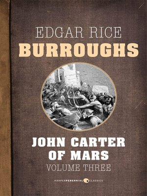 cover image of John Carter of Mars, Volume Three