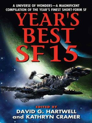 cover image of Year's Best SF 15