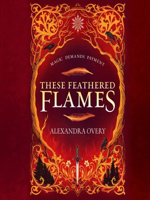 cover image of These Feathered Flames