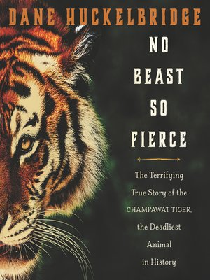 cover image of No Beast So Fierce