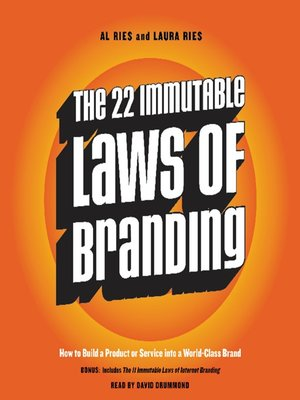 cover image of The 22 Immutable Laws of Branding