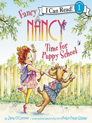 cover image of Fancy Nancy: Time for Puppy School